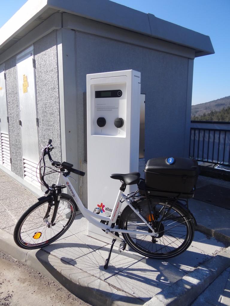 Prva javna električna polnilnica v regiji.